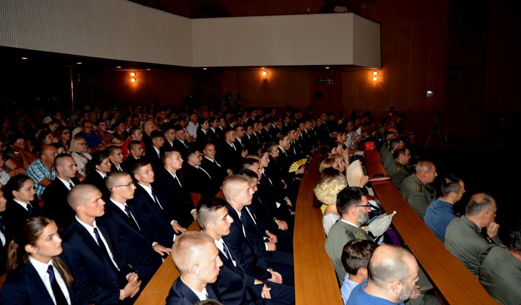 Завршетак школовања 42 класе Војне гимназије
