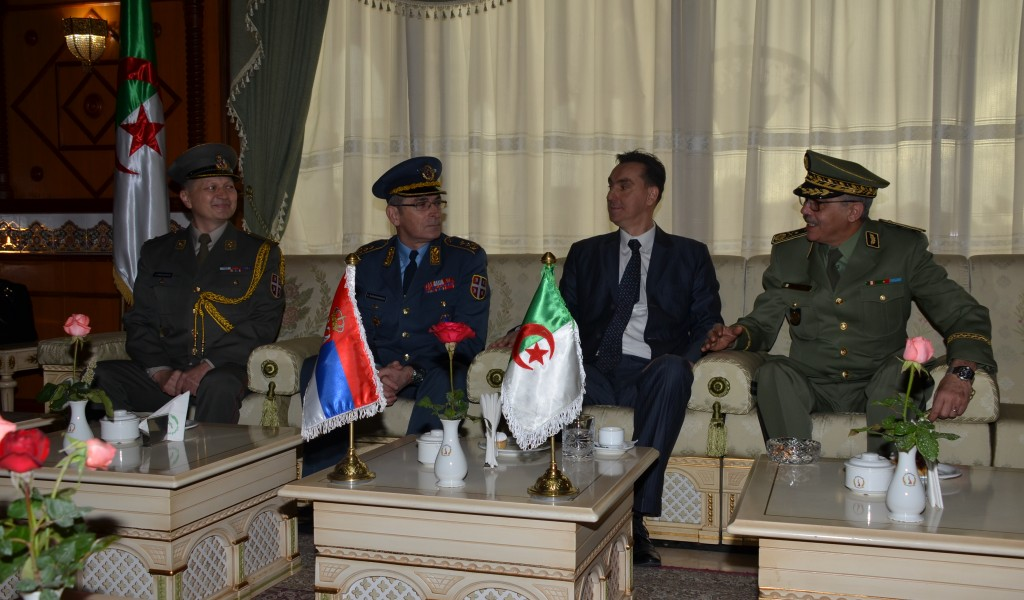 Seventh Session of the Serbia Algeria Committee for Defence Cooperation