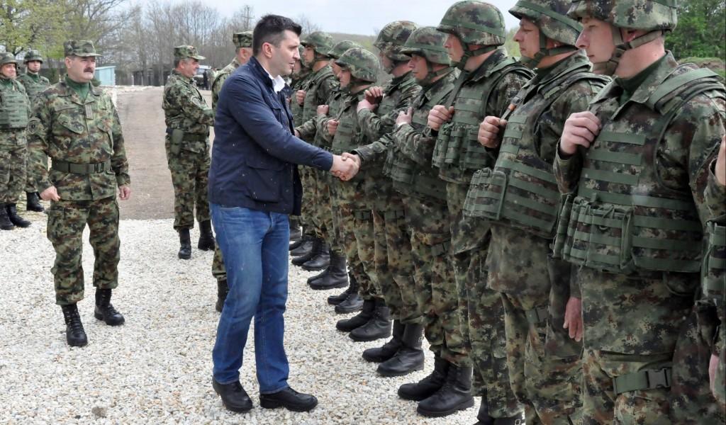 Васкршња посета јединицама Војске Србије