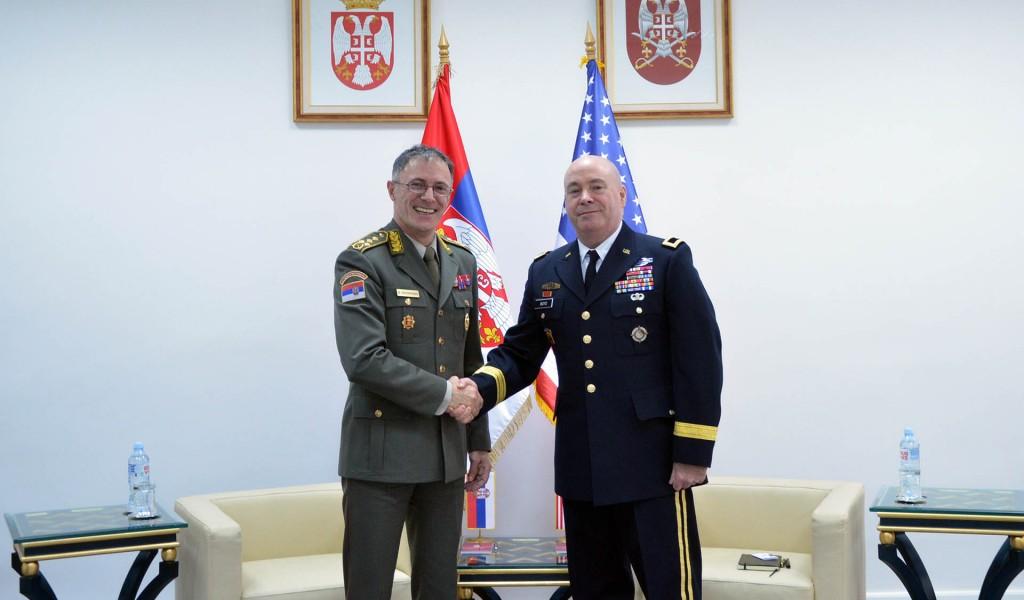 Ekspertski razgovori o saradnji sa Oružanim snagama SAD