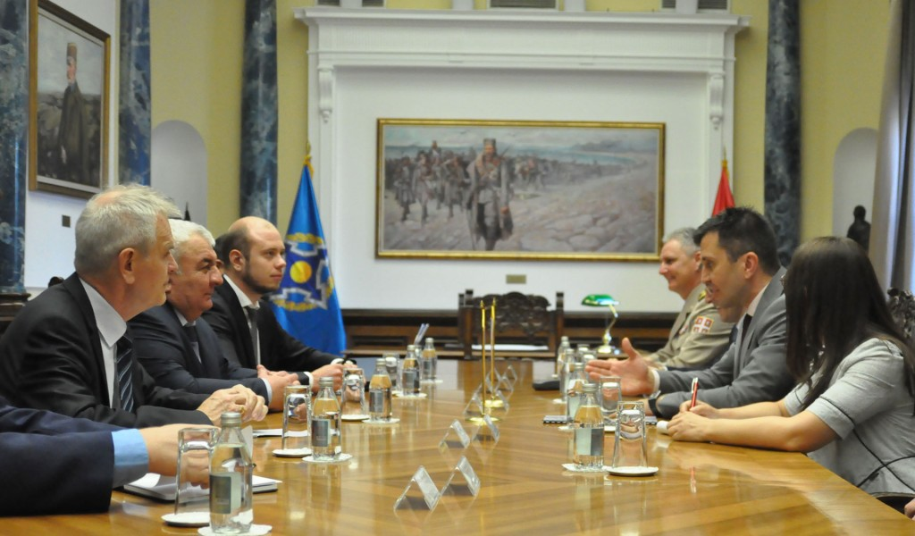Министар Ђорђевић са генералним секретаром ОДКБ