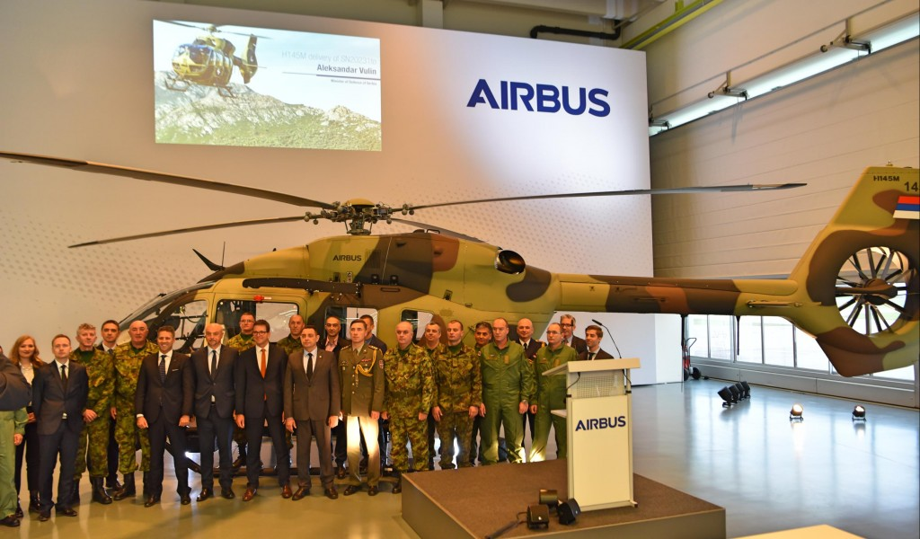 Domestic weapons on new Airbus helicopters for the Serbian Armed Forces