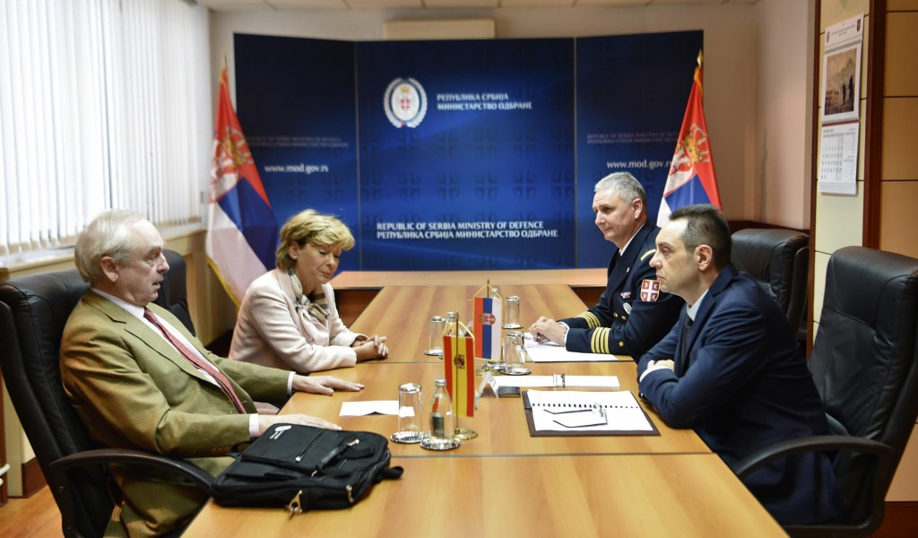 Unequivocal support of Serbia to a single Spain