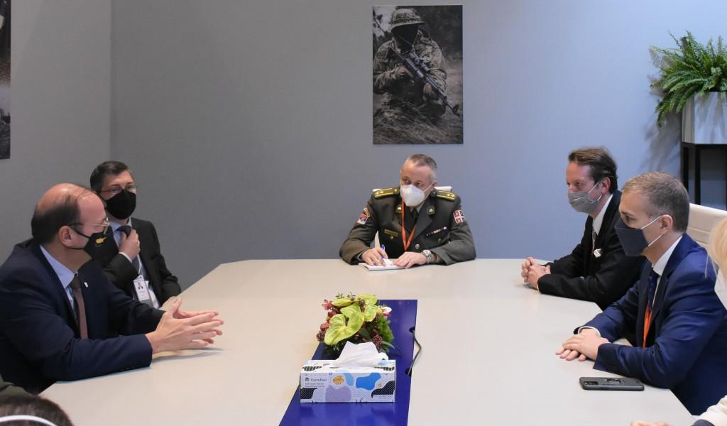 Састанак министара одбране Србије и Кипра