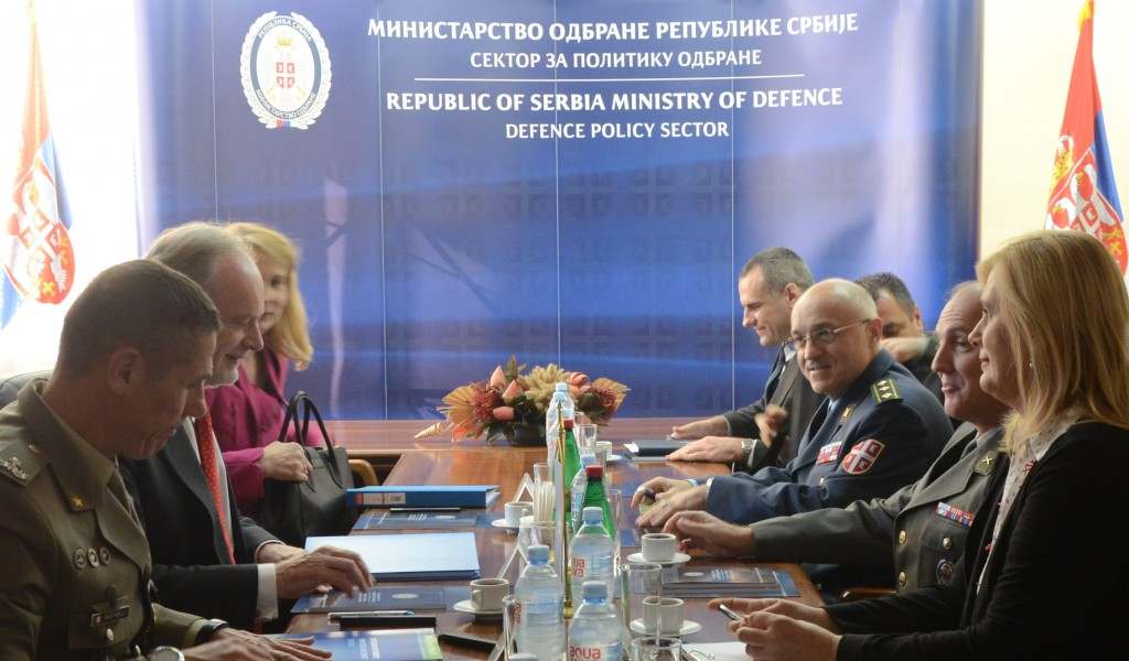 Visit by representatives of the NATO Operations Division