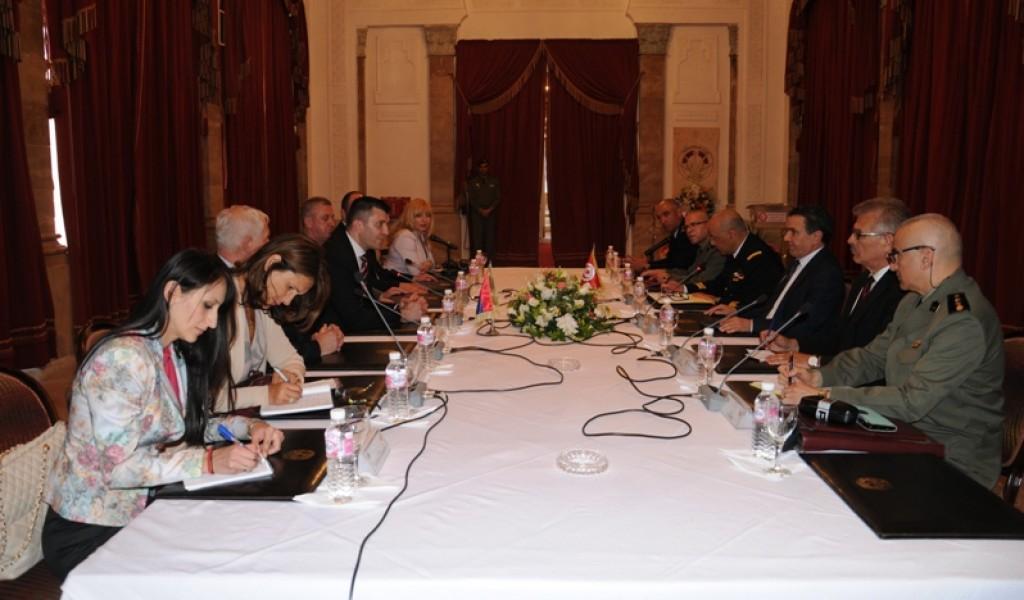 Развој сарадње са Тунисом
