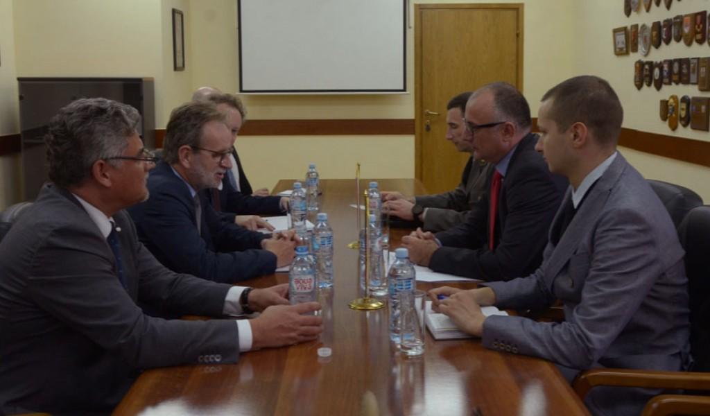 Састанак помоћника министра за политику одбране Србије и помоћника министра спољних послова Чешке