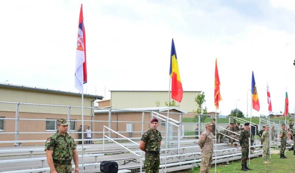 Припадници Војске Србије на вежби у Бугарској