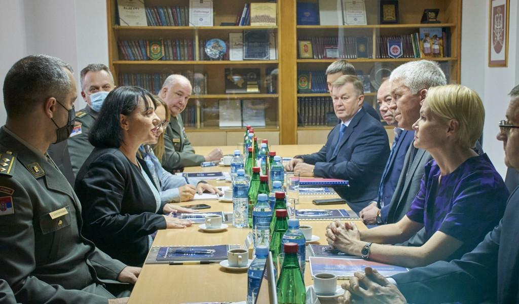 Експертски разговори са представницима Министарства одбране Руске Федерације