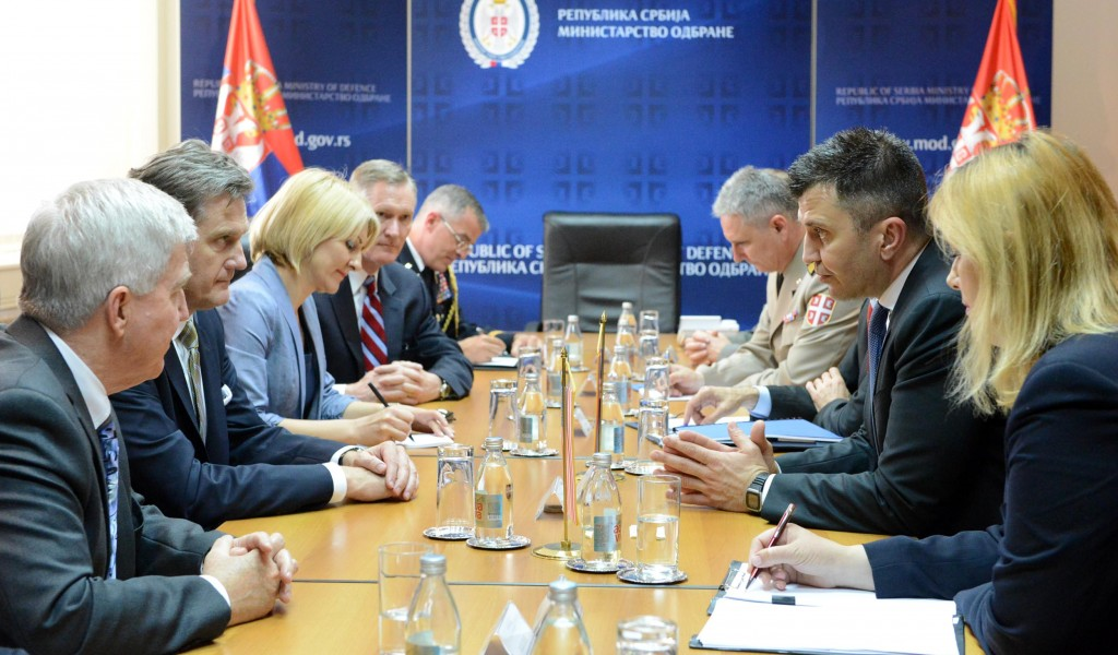 Министар Ђорђевић примио конгресну делегацију САД а