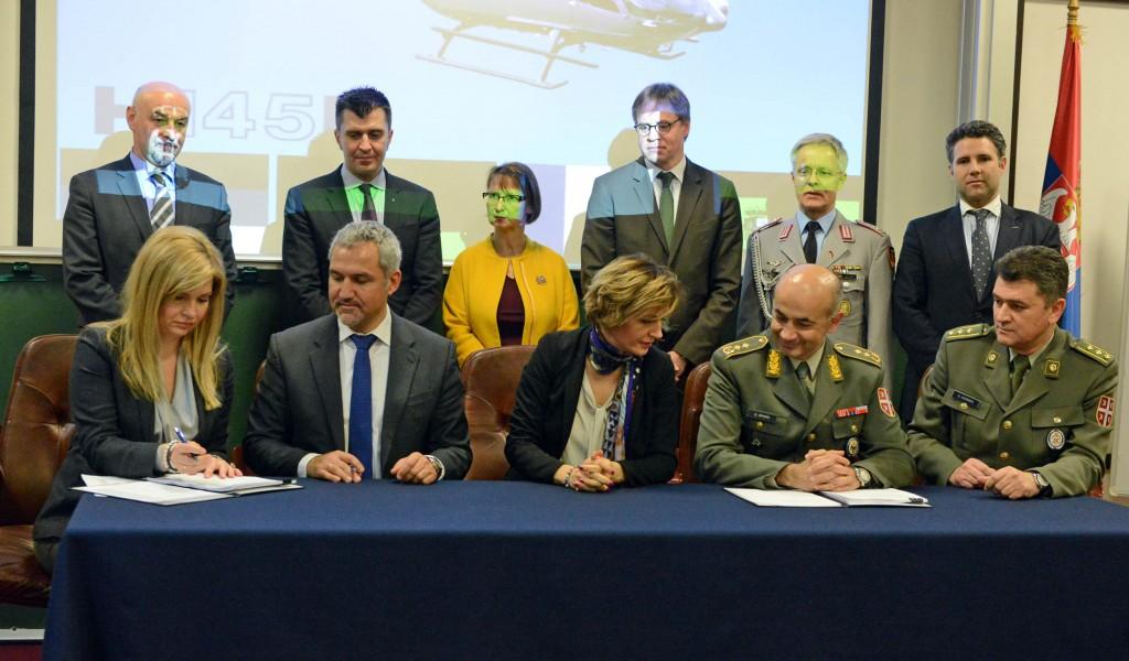 Уговор за набавку хеликоптера са Airbus Helicopters