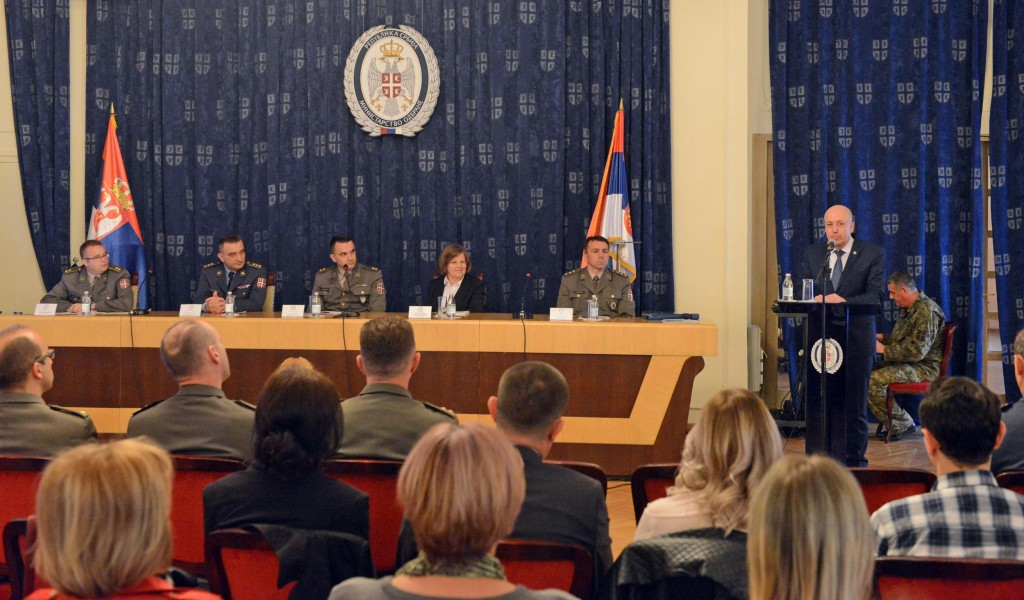 Expert meeting of psychologists from the Ministry of Defense and the Serbian Armed Forces