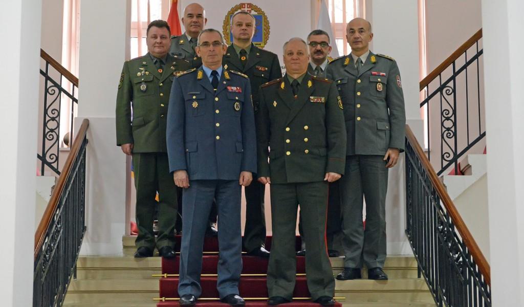 Poseta delegacije Belorusije Univerzitetu odbrane