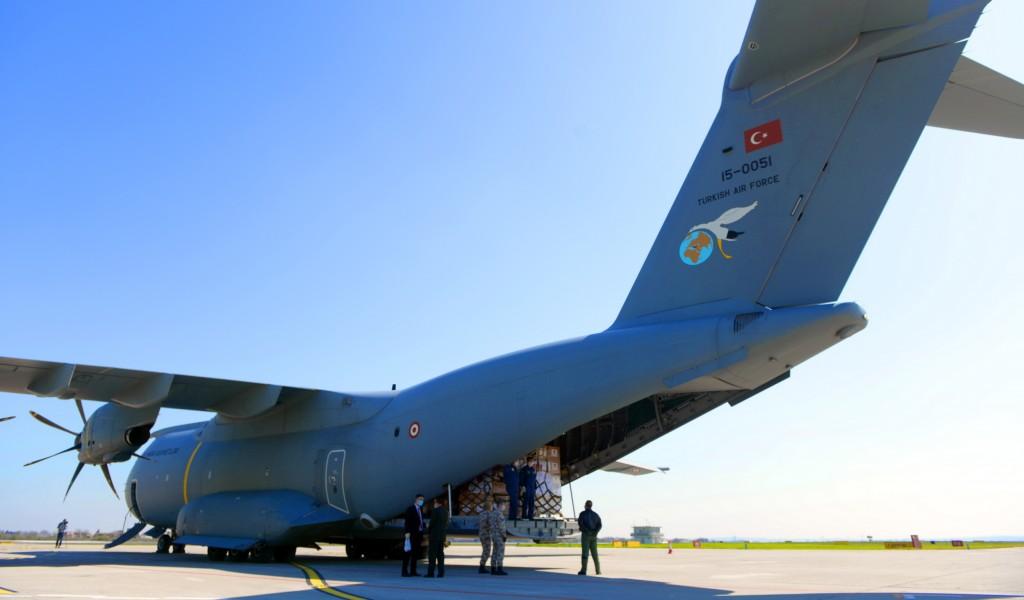 Србији стигла помоћ из Турске