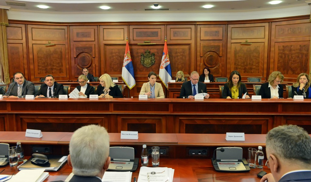 Састанак Комисије за припрему предлога програма изградње станова за припаднике снага безбедности
