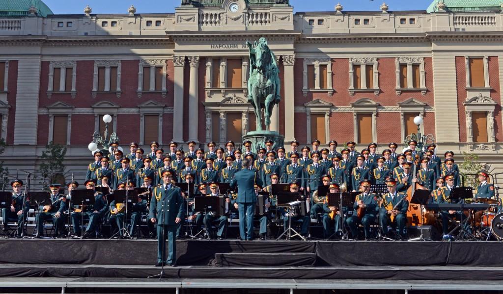 Обележена 75 годишњица од ослобођења Београда у Другом светском рату