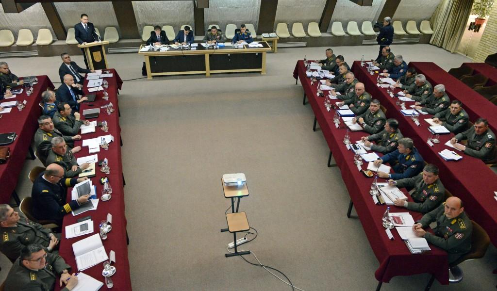 Заједничка седница колегијума министра одбране и начелника Генералштаба