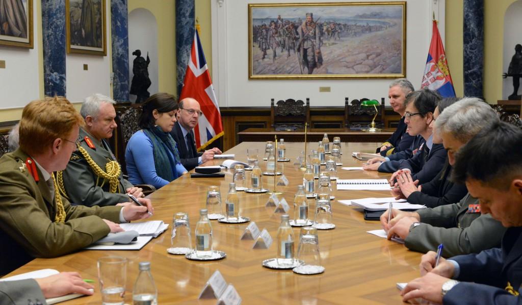 Потврда високог нивоа разумевања и потребе унапређења сарадње са Уједињеним Краљевством