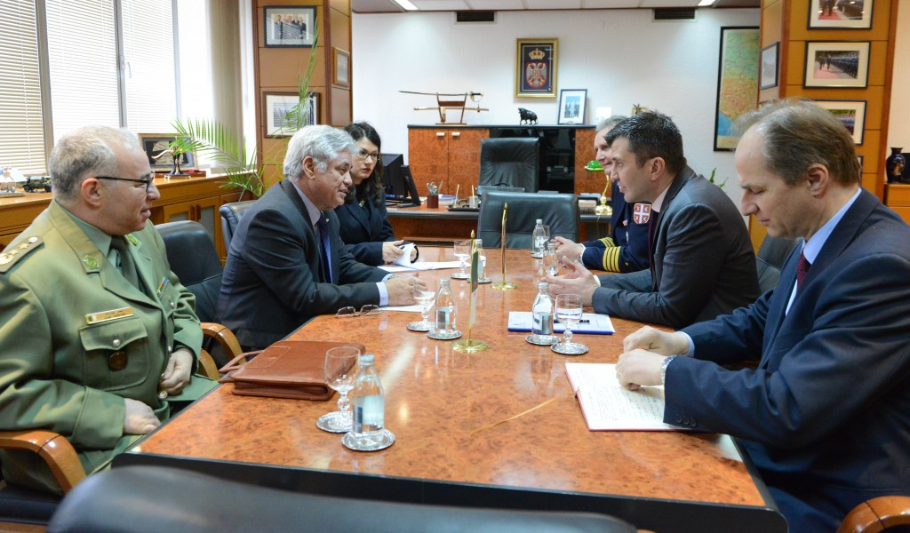 Confirmation of Good Defence Cooperation with Algeria