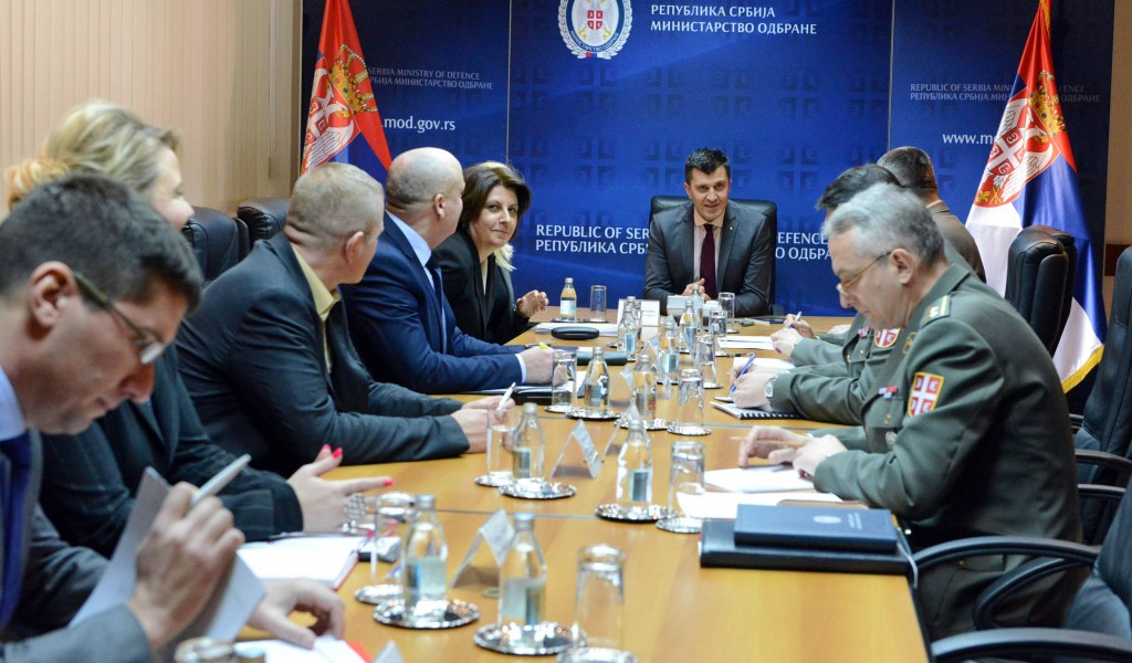 Meeting of the Working Group for drafting strategic documents