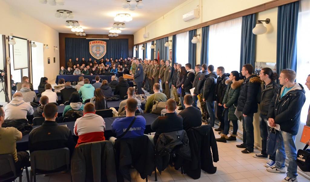 Започела селекција кандидата за професионалне војнике