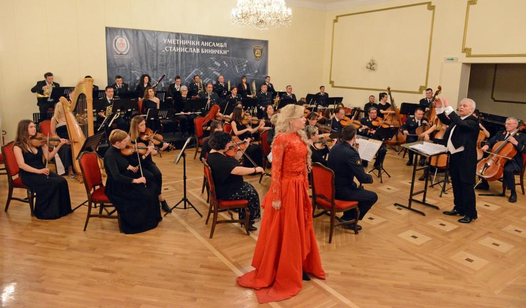 Ансамбл Бинички наступио на отварању Фестивала словенске музике