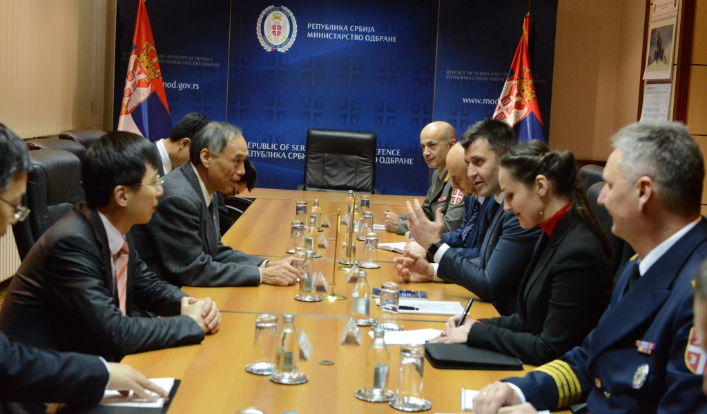 Intensification of the cooperation with companies from China