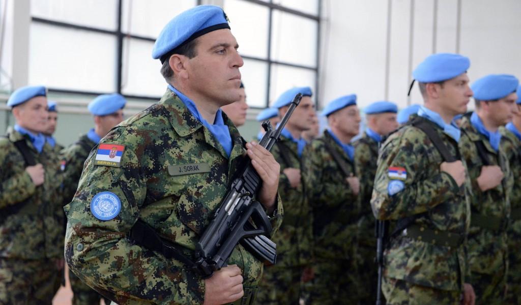 Испраћај контингента Војске Србије у мисију у Либану