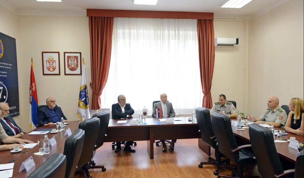 Сарадња Универзитета одбране и Српске академије наука и уметности