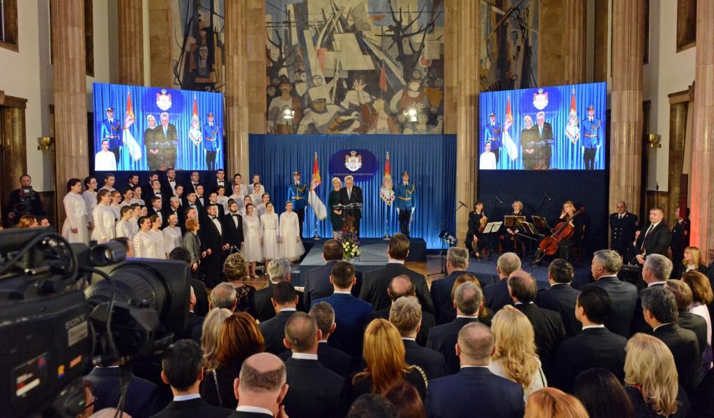 Svečani prijem povodom Dana državnosti