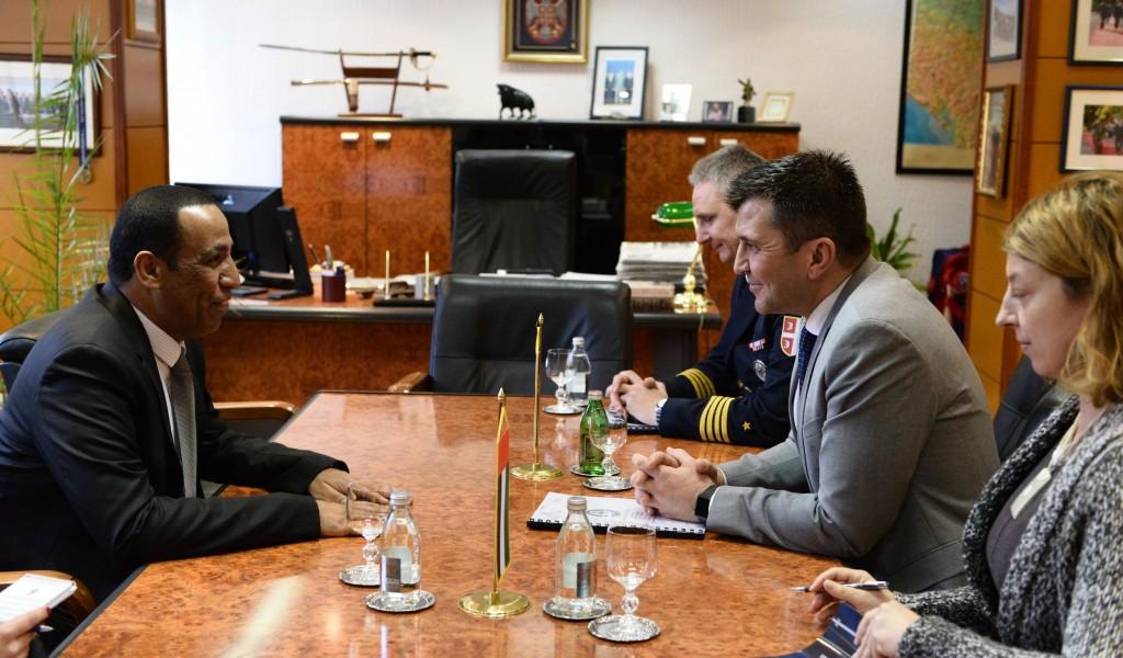 Sastanak ministra odbrane sa ambasadorom UAE