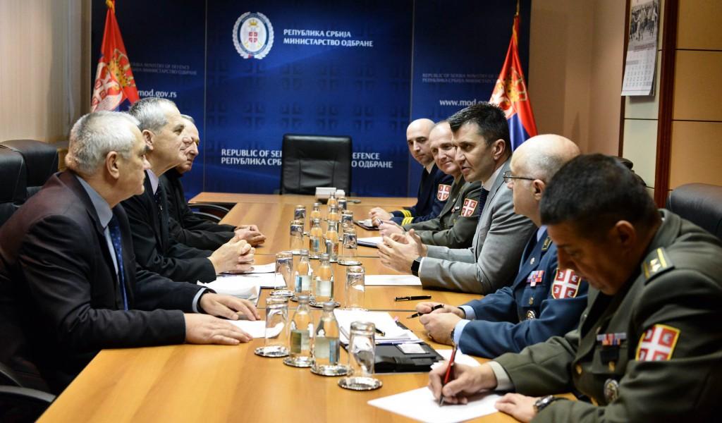 Дијалог са представницима Клуба генерала и адмирала Србије