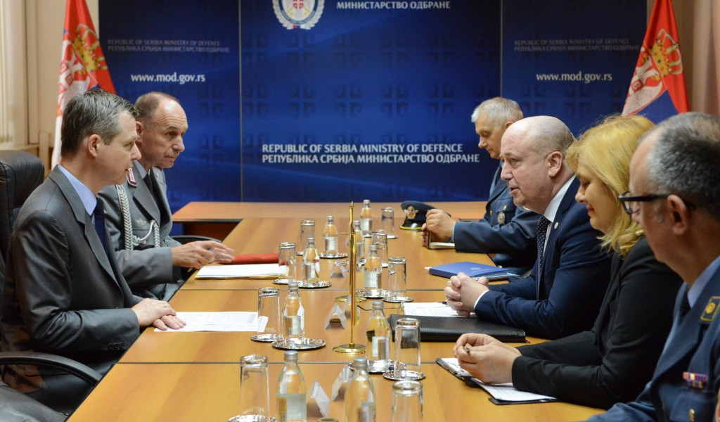 State Secretary Živković meets Parliamentary Secretary of the German Ministry of Defence Silberhorn