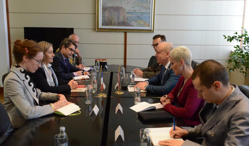 State Secretary Živković meets French Senator Ms Conway Mouret