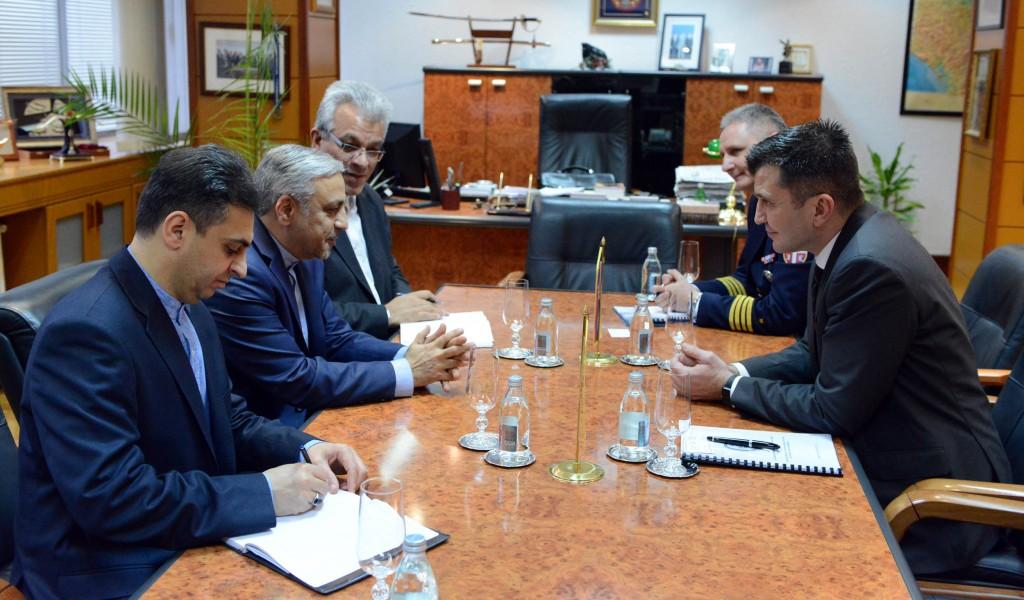 Састанак са новоименованим амбасадором Ирана