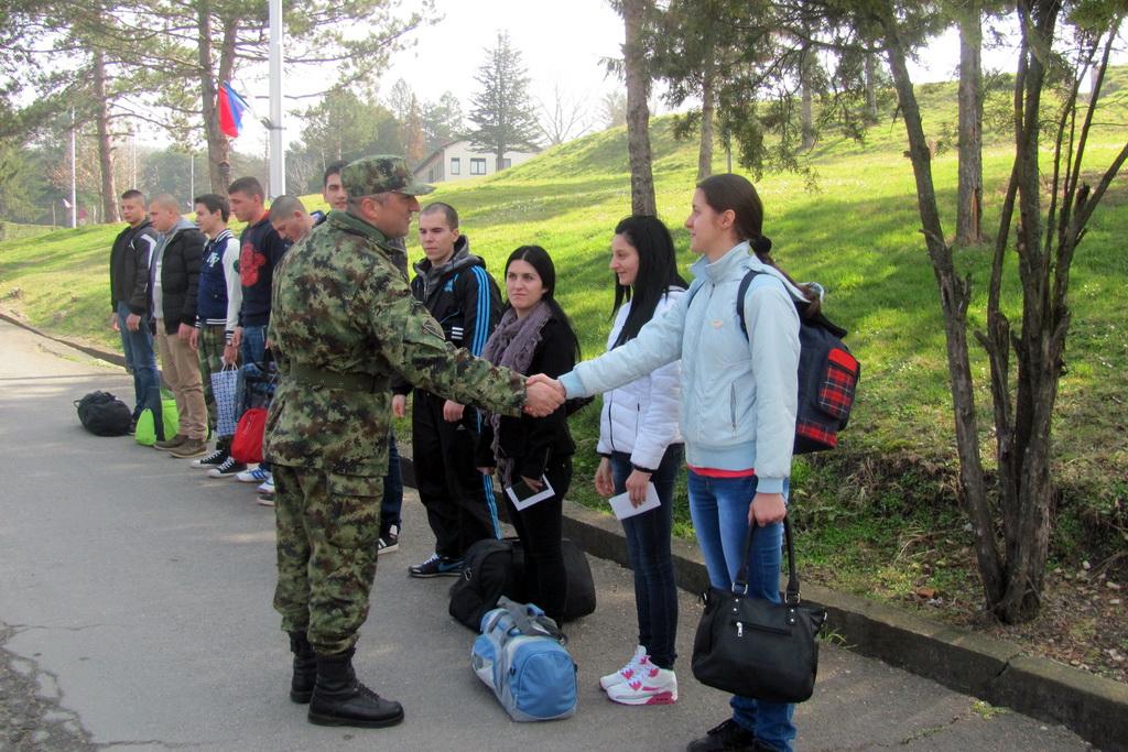 Nova generacija vojnika na dobrovoljnom služenju vojnog roka