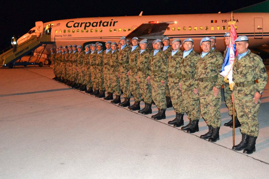 Пешадијски вод Војске Србије вратио се из Либана