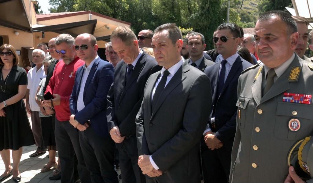 Министар Вулин Србија памти и добро и зло и сваком враћа по животу и заслузи