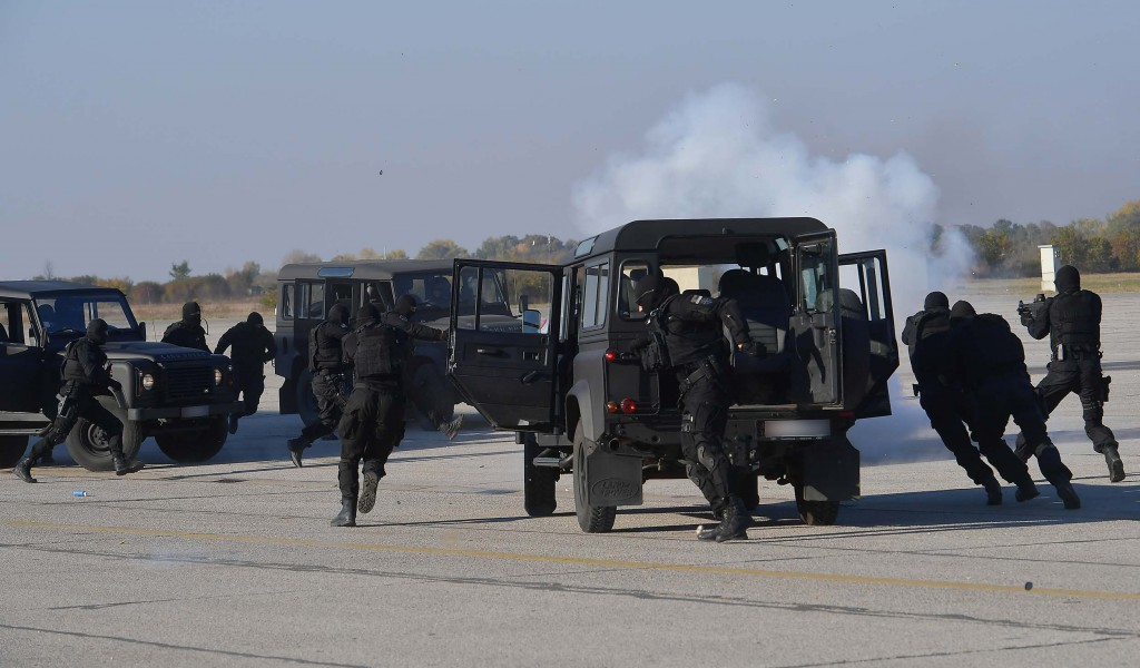 Joint exercise of the Serbian Armed Forces and the Ministry of Interior