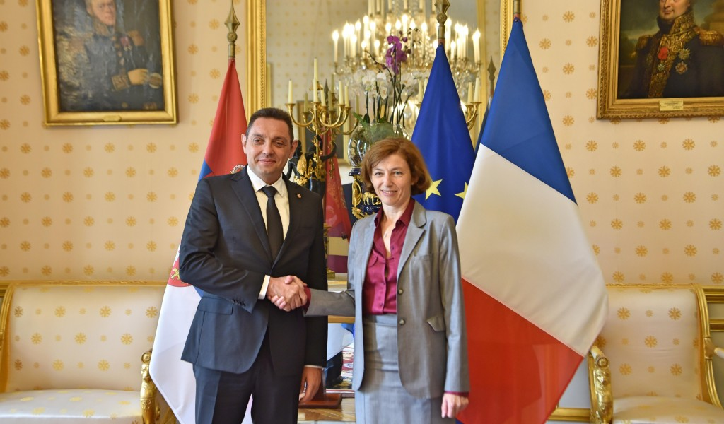 Minister Vulin France greatly respects Serbia and President Vučić s policy