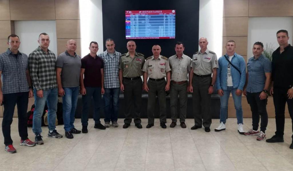 Snajperisti Vojske Srbije otputovali na takmičenje u Belorusiju