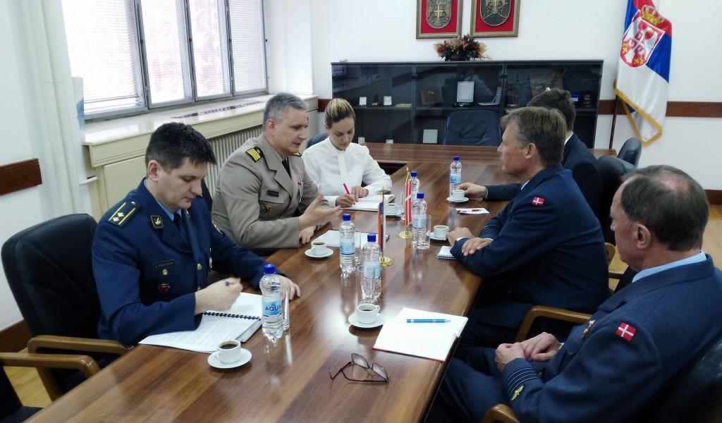 Podrška Danske izgradnji kapaciteta sistema odbrane Srbije