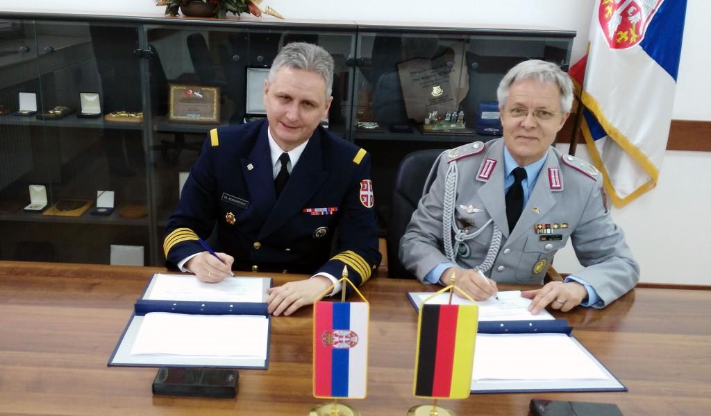 Unapređenje saradnje u oblasti odbrane sa Nemačkom