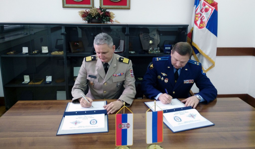 The Confirmation of an Intensive Cooperation with the Russian Federation