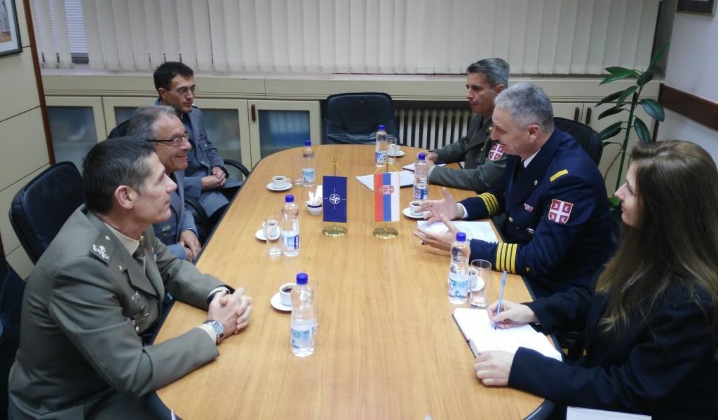 Експертски разговори са представницима Команде Здружених снага Напуљ