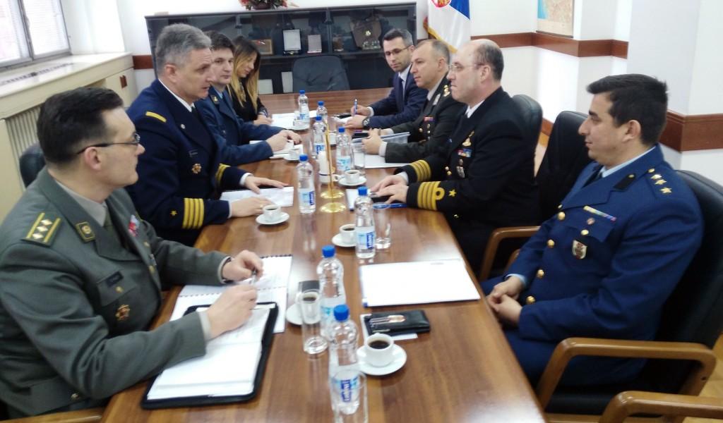 Redovne bilateralne odbrambene konsultacije sa Turskom