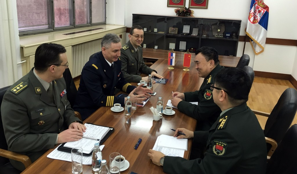 Унапређење сарадње у области одбране са Кином