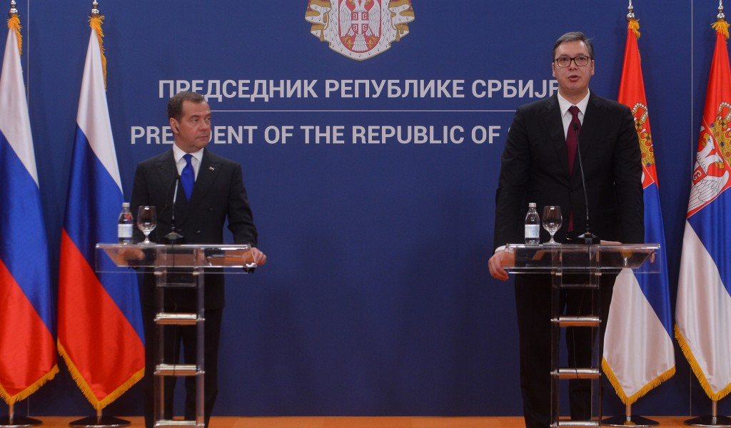 Председник Вучић Поносан сам на Војску Србије