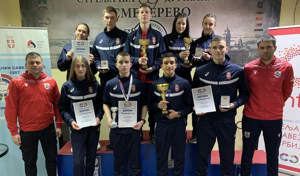 Нове медаље и државни рекорд за стрелце Стрељачког клуба Војне академије Академац