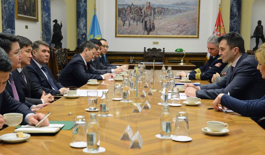 Унапређење сарадње са Казахстаном